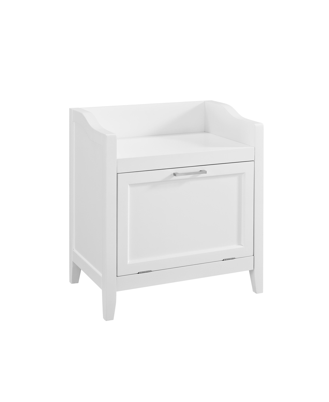 Amazon Com Simpli Home Avington Storage Hamper Bench