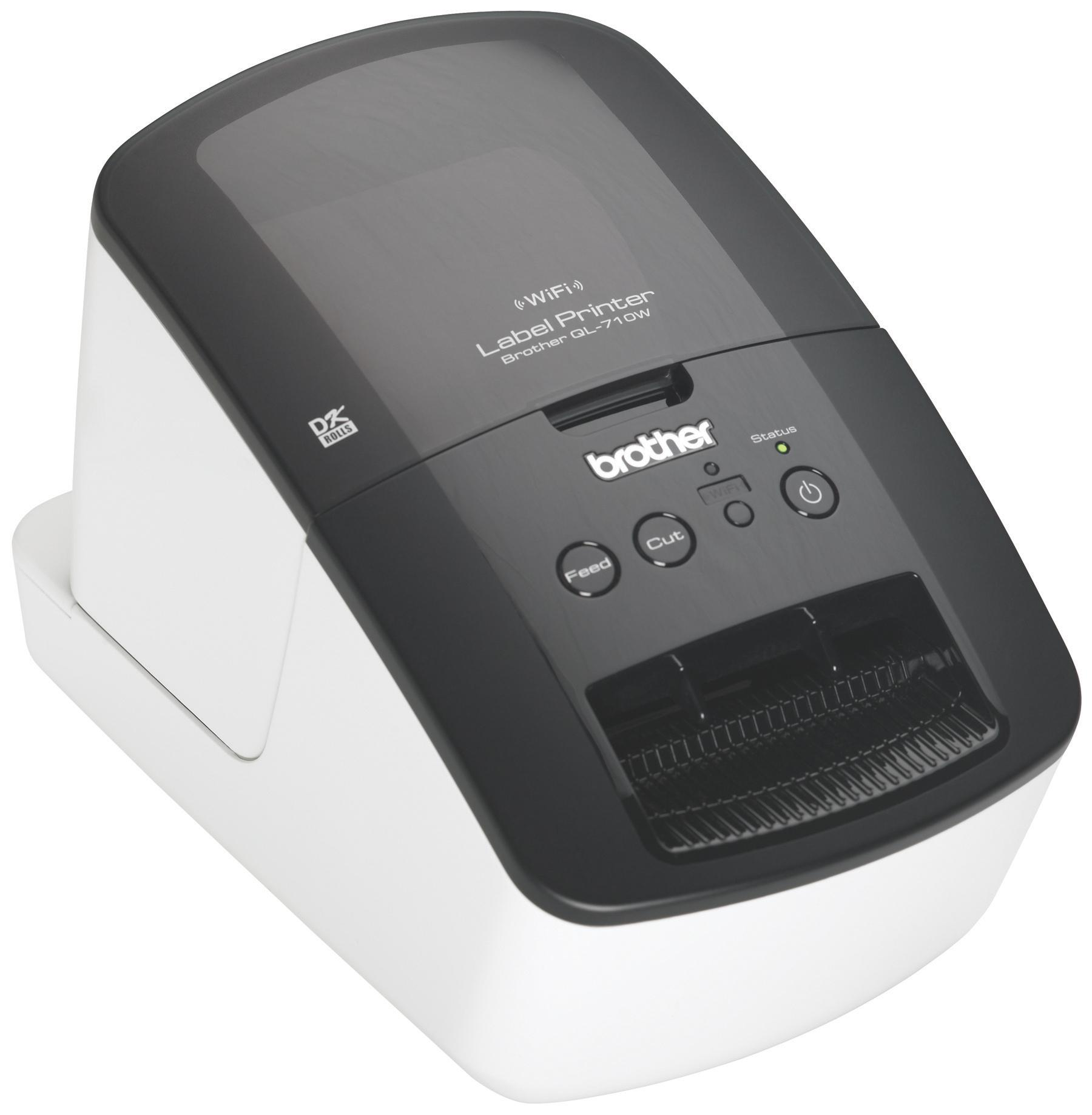 brother high speed label printer with wireless networking. Black Bedroom Furniture Sets. Home Design Ideas