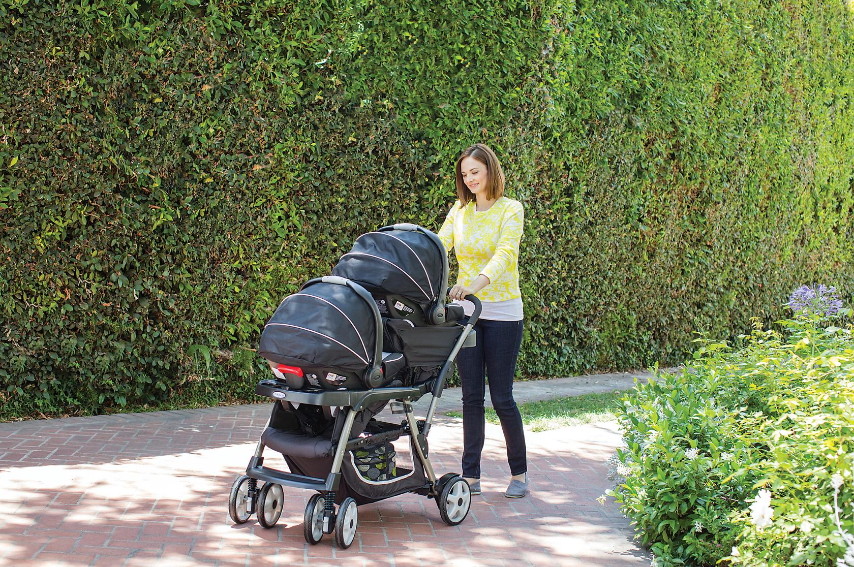 Ready2grow Click Connect LX Stroller Review