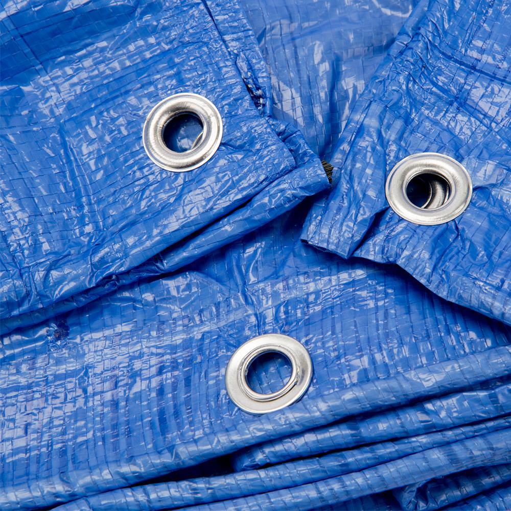 Grizzly Tarps 8 X 10 Feet Blue Multi Purpose Waterproof