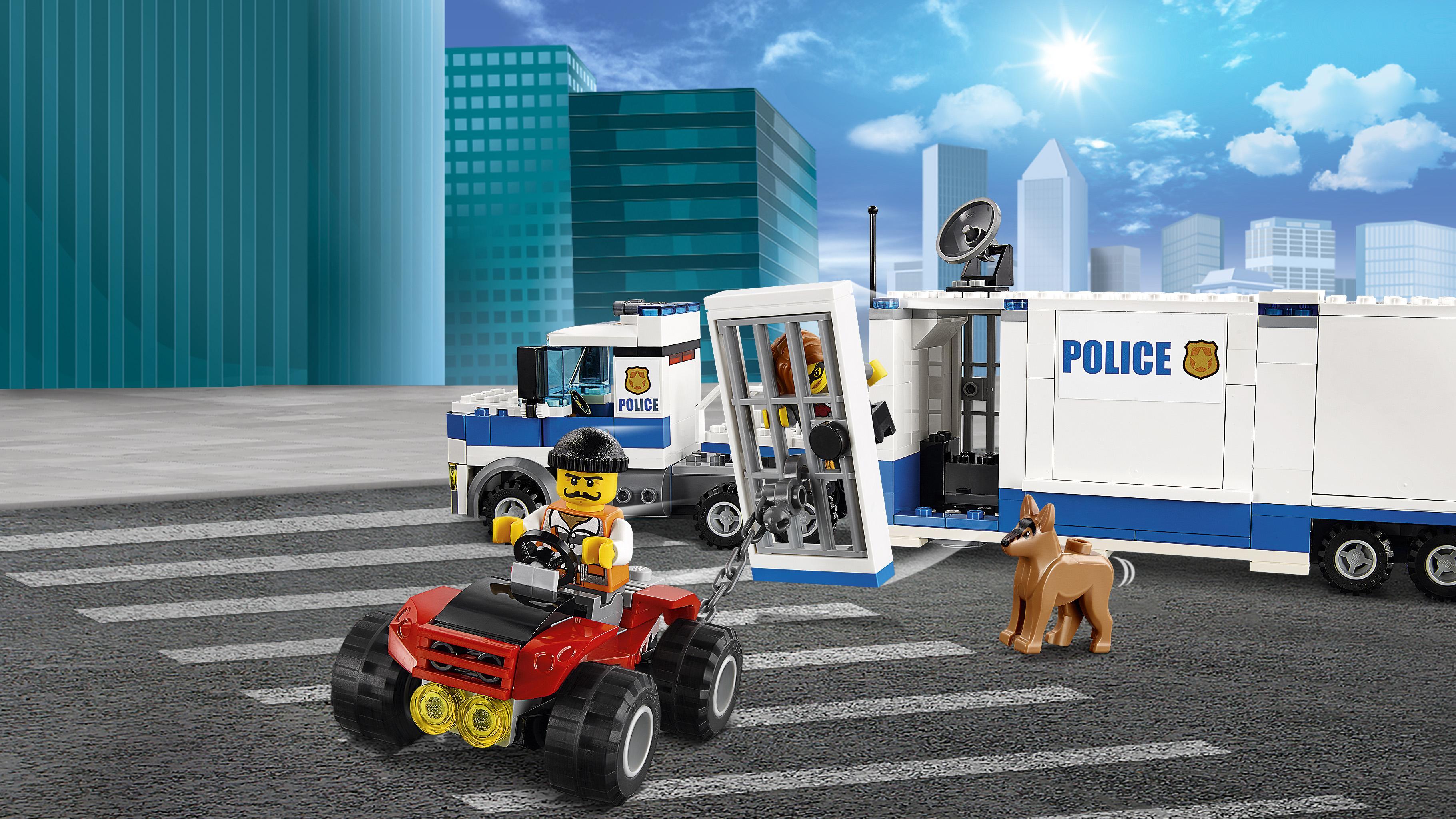 Amazon Com Lego City Police Mobile Command Center Truck