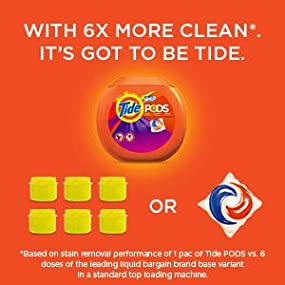 Amazon.com: Tide PODS Spring Meadow HE Turbo Laundry