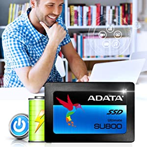 ADATA Ultimate SU800 1TB SSD D NAND 2.5 Inch SATA-III Internal Solid State NEW 9