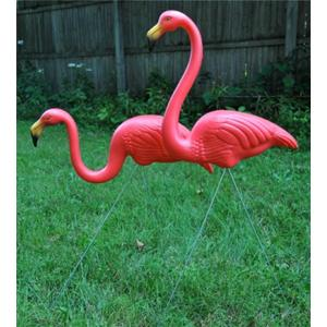 Flamingo, Realmingo, Featherstone, Lawn and Garden, Gardening, Pink, Lawn Ornaments, Tropical