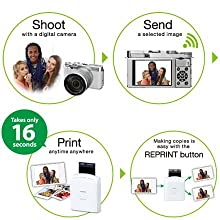 On-the-spot instax printing!