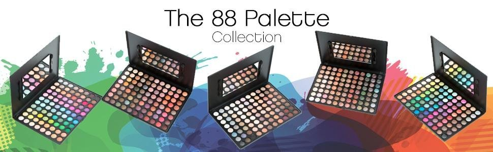 Coastal Scents 88 Palette Collection Header
