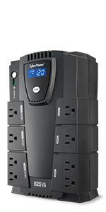 CP825LCD Battery Backup UPS