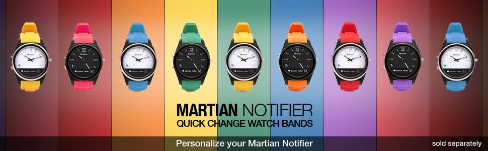 Martian Watches Notifier Smartwatch - Black 24