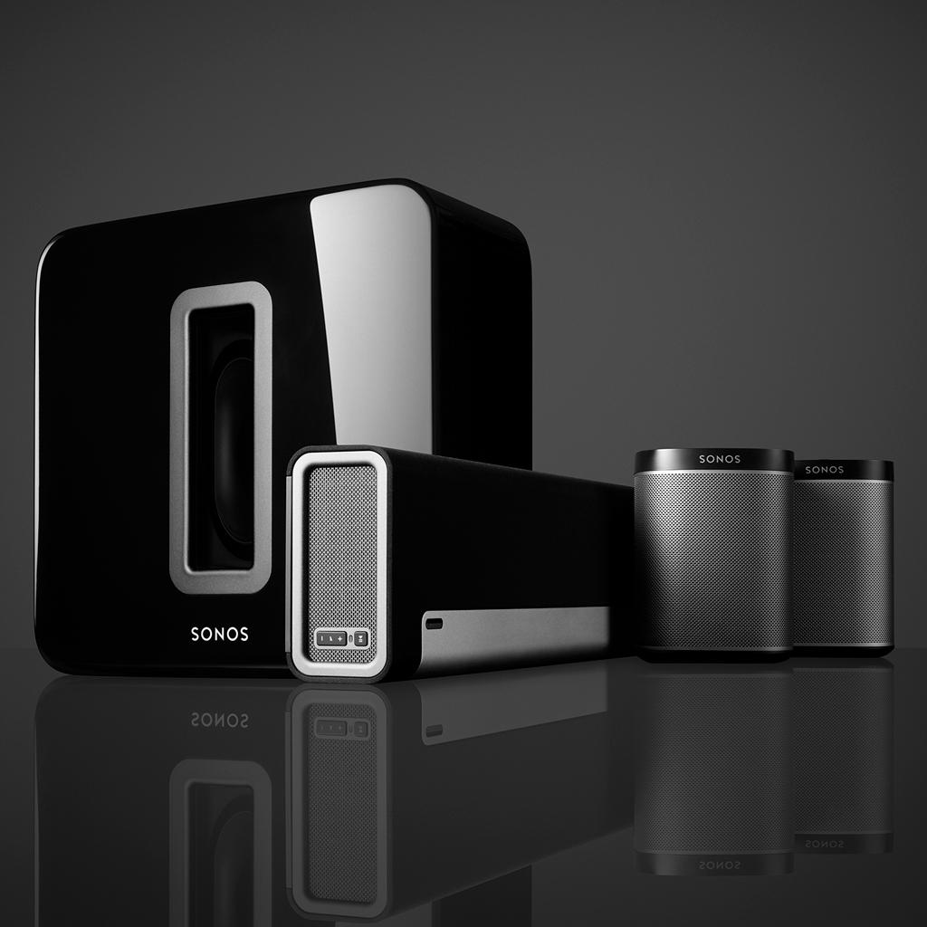 sonos 5 1 home theater system home audio. Black Bedroom Furniture Sets. Home Design Ideas