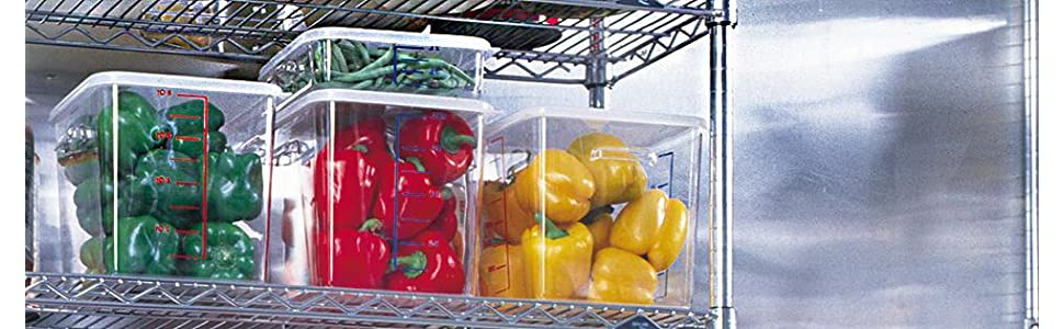 Amazon.com: Rubbermaid Commercial Space Saving Food