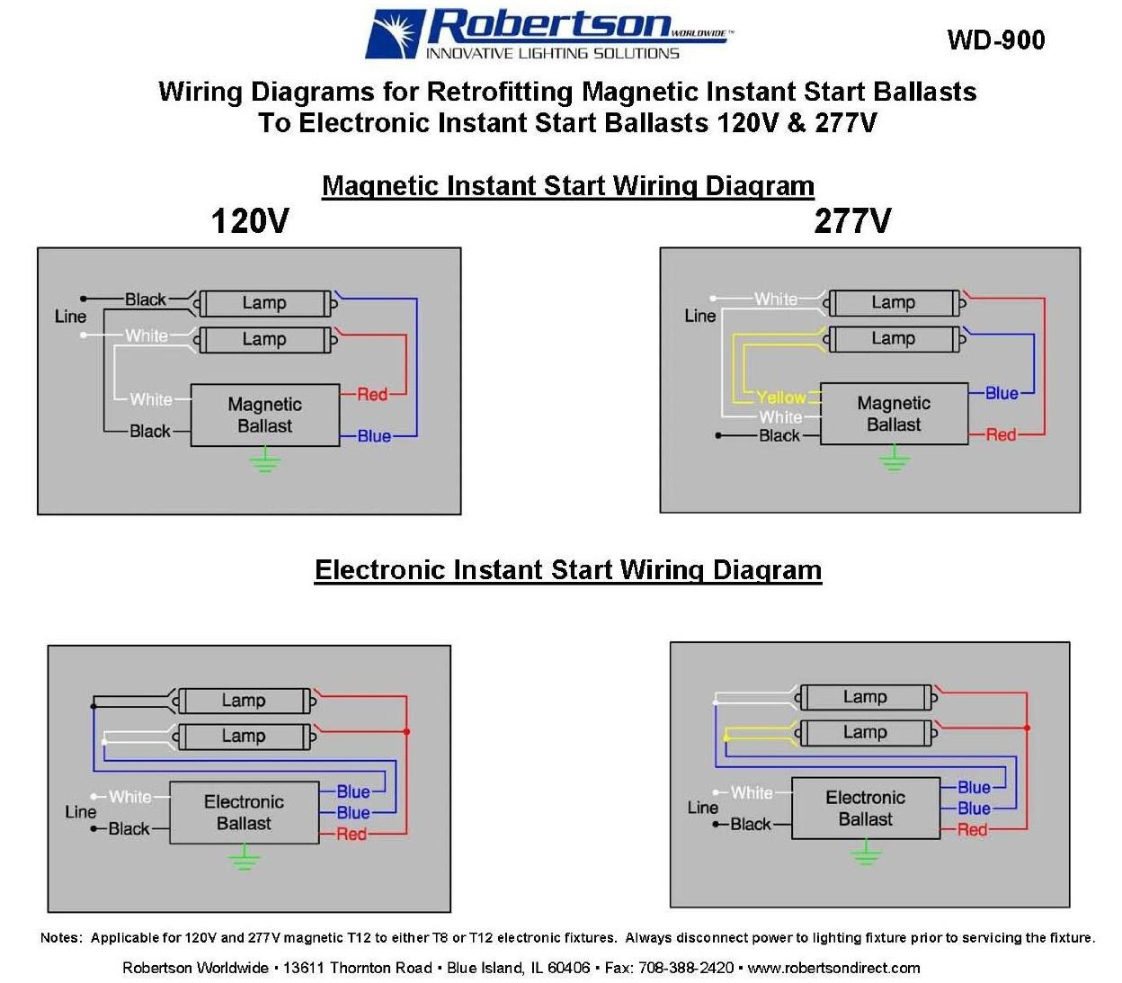 Battery Ballast Wiring Diagram Emergency Backup