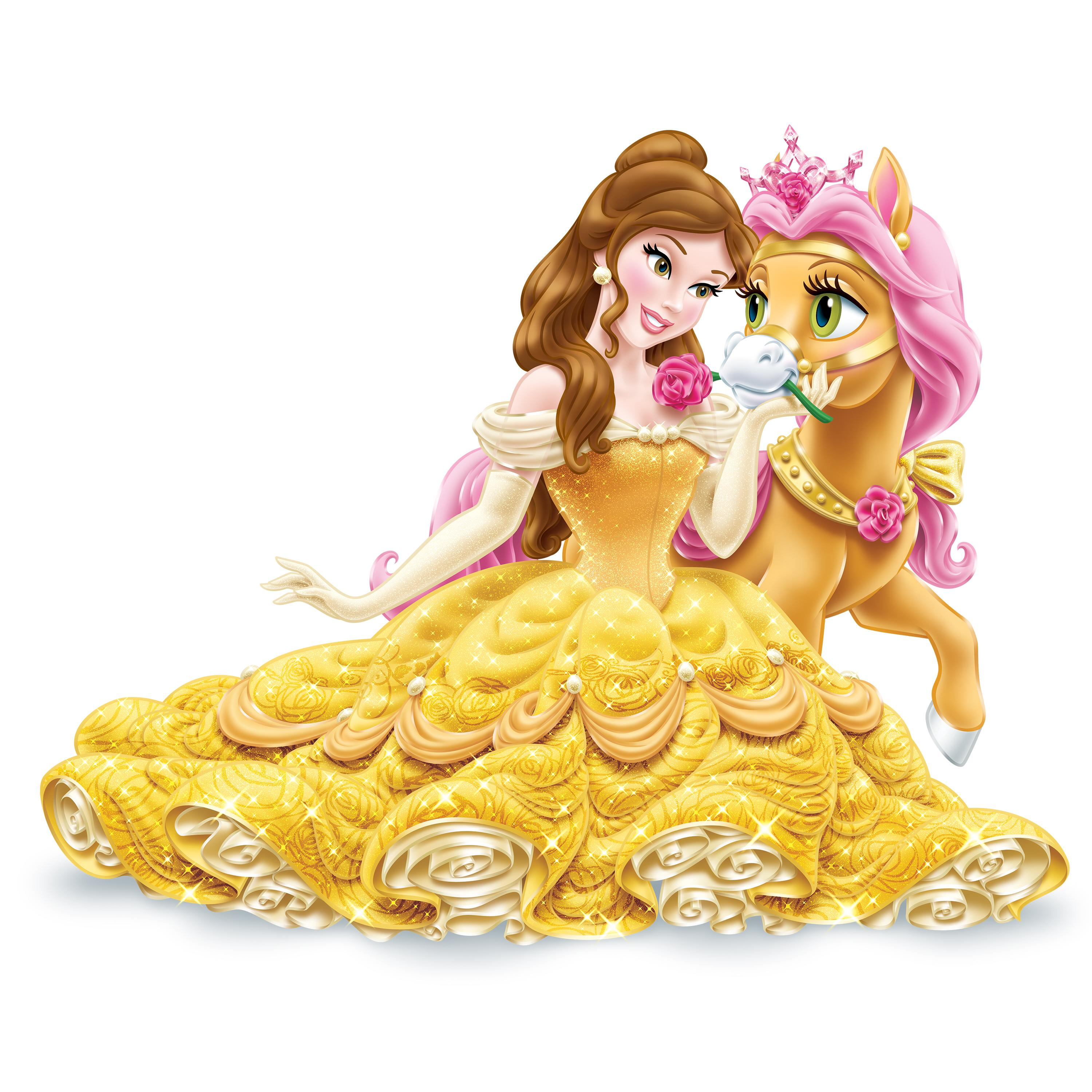 Disney princess palace pets glitzy glitter - Princesse poney ...