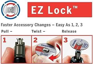 Dremel Ez544 Ez Lock Wood Cutting Wheel Power Rotary