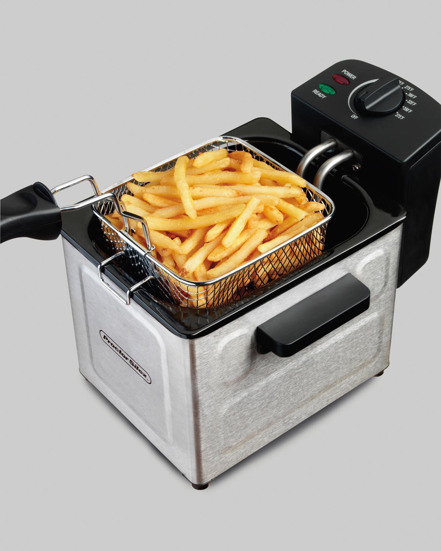 Amazon.com: Proctor Silex Deep Fryer with Frying Basket, 1
