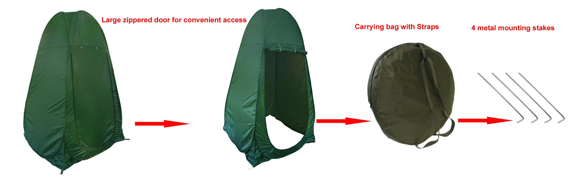 Outdoor Bathroom Tent Amazoncom Portable Pop Up Tent Camping Beach Toilet Shower
