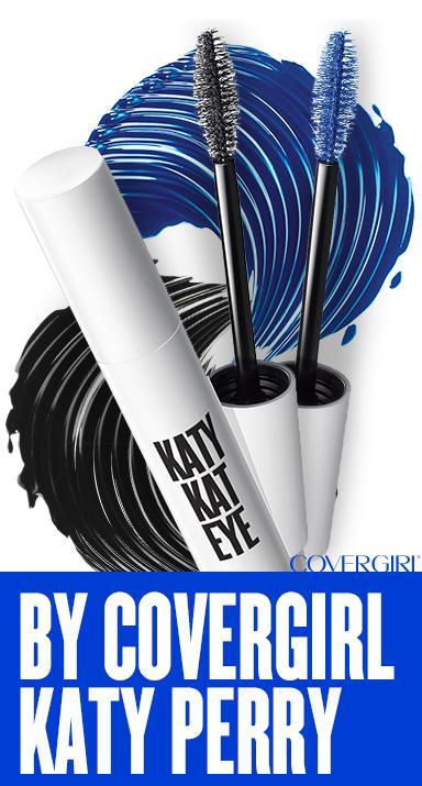 44a86249195 Amazon.com: CG Katy Kat Eye Mascara Perry Blue 10.5 mL (Packaging ...