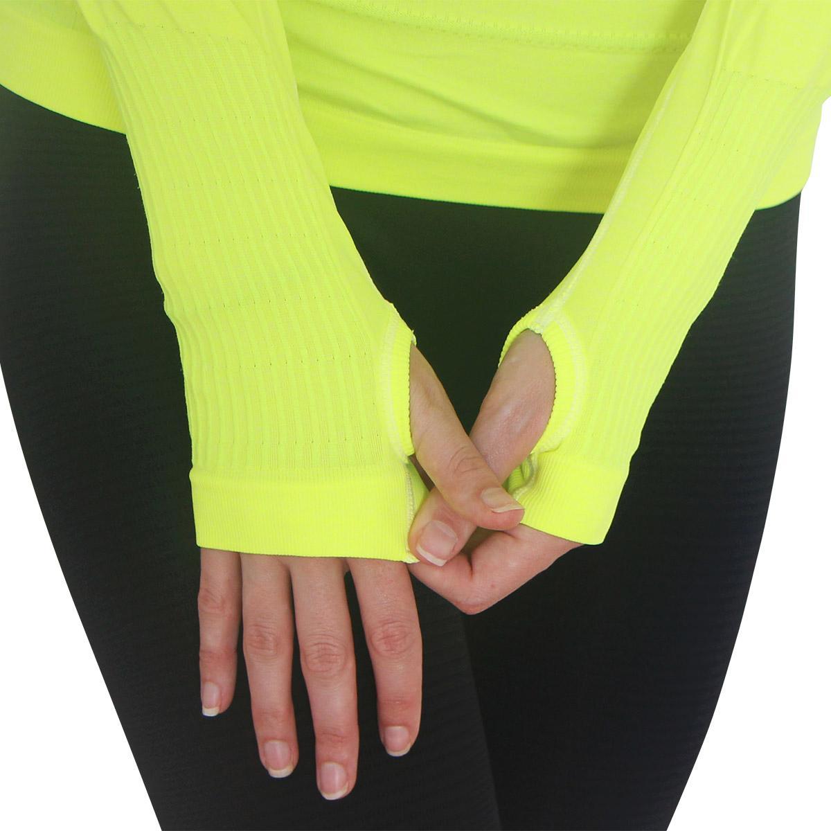 Zensah Women 39 S Run Seamless Long Sleeve