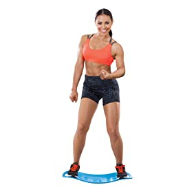 Simply Fit Board Green The Abs Legs Core Workout Balance