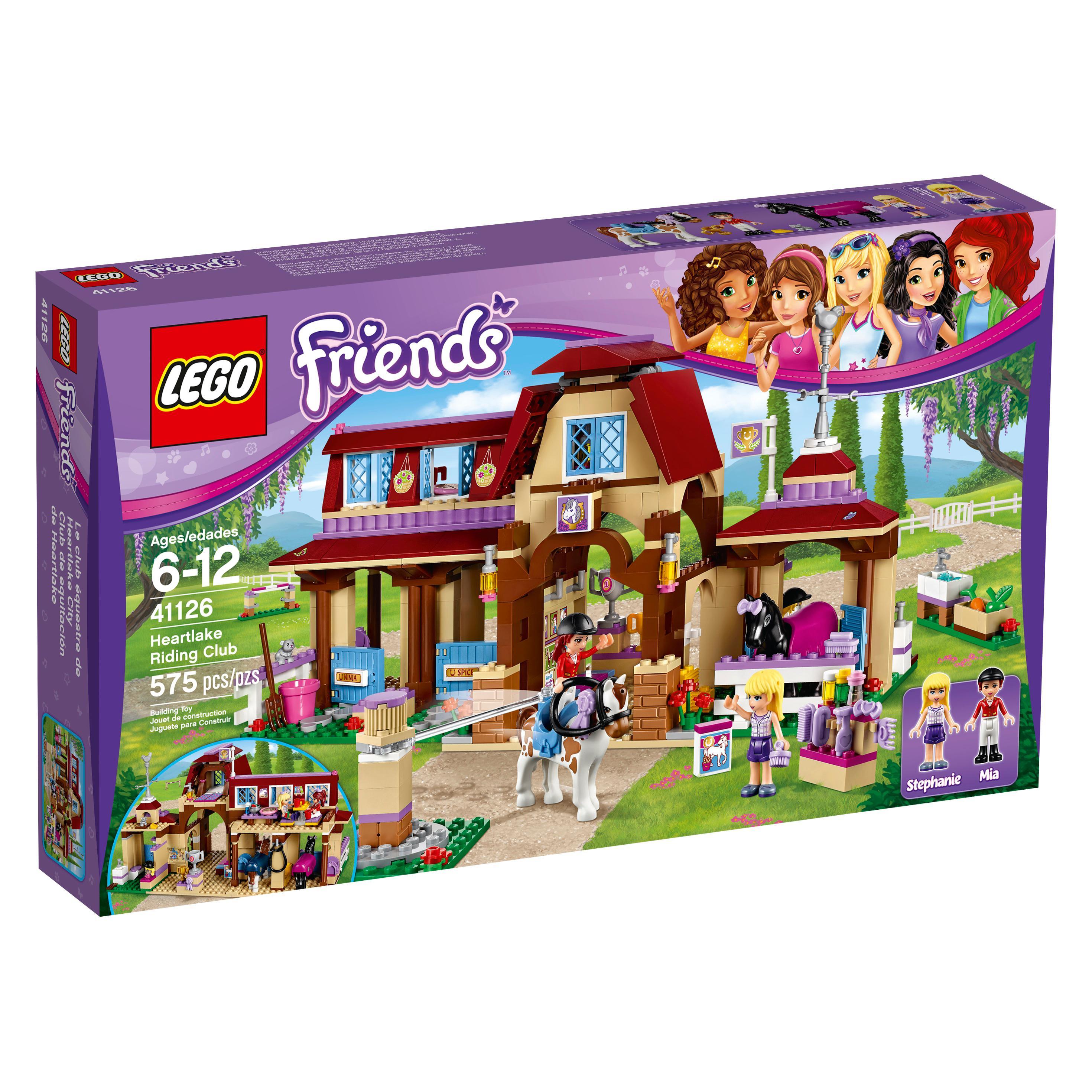 Toys For Legos : Amazon lego friends heartlake riding club toys