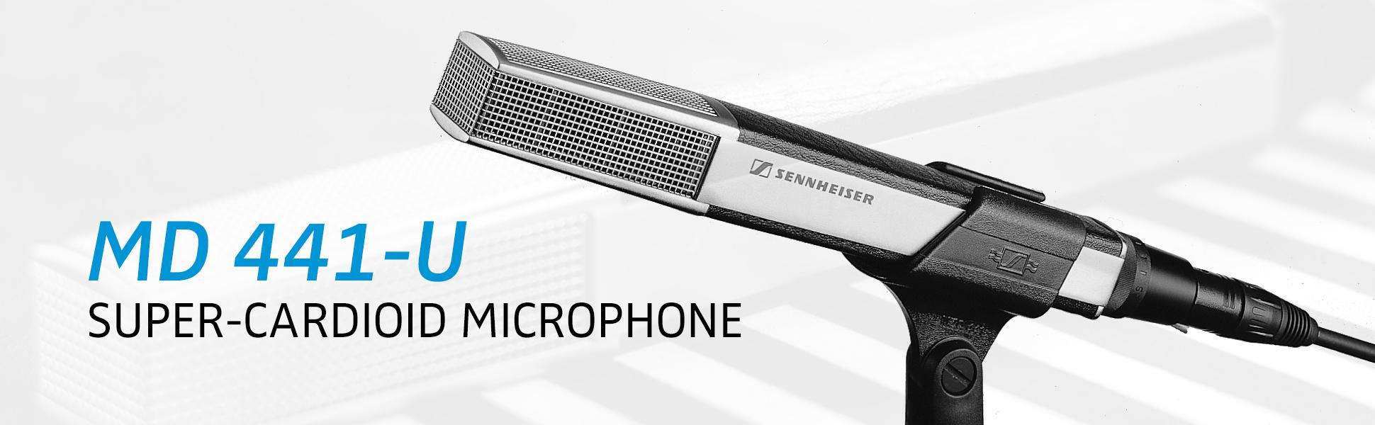 Amazon Com Sennheiser Md U Versatile Dynamic Super Cardioid