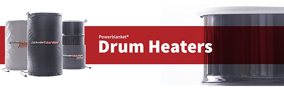 Powerblanket Bh55rr 100 55 Gallon Insulated Drum Heating