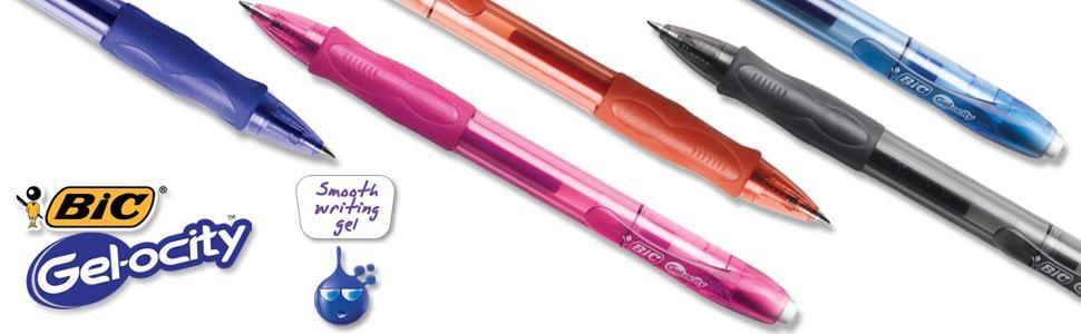 pen, pens, gel pen, gel pens, bic pen, bic pens,