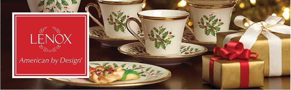 Lenox Holiday, Lenox Holiday Collection, Lennox, Lenox Holiday Dinnerware, Lennox Holiday, Holiday