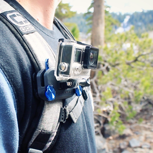 how to make a gopro backpack strap mount