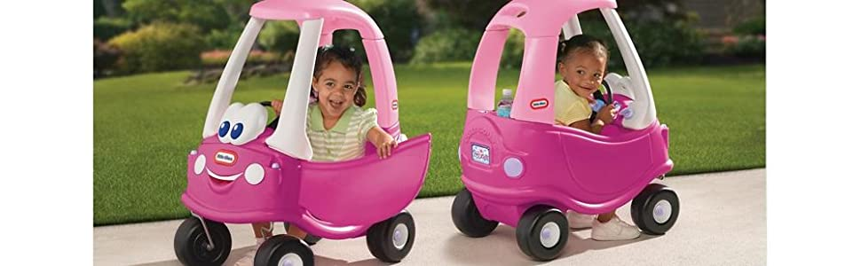 Little tikes princess cozy coupe ride on car toys pink free fast shipping - Little tikes cozy coupe pink ...