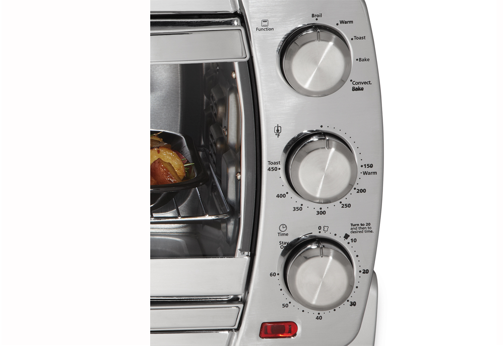 Amazon Com Oster Large Convection Toaster Oven Brushed