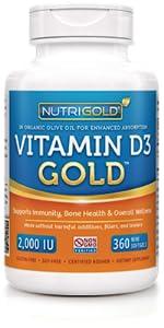 Vitamin D3 (2,000 IU)