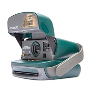 Amazon.com : Impossible Polaroid 600 Round Camera, Green (PRD2875 ...
