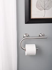Integrated Toilet Paper Holder