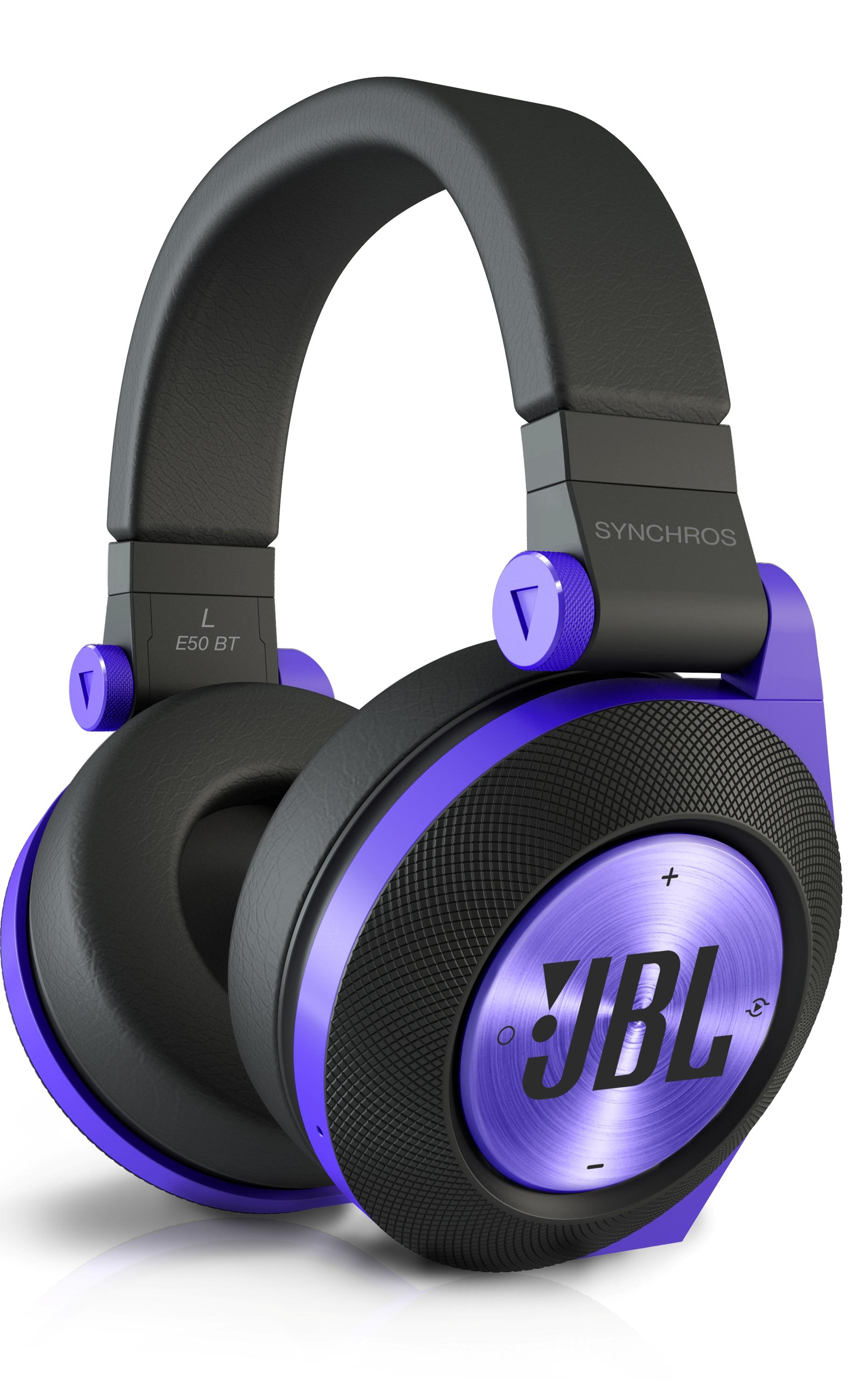 Amazon.com: JBL E50BT Purple Premium Wireless Over-Ear