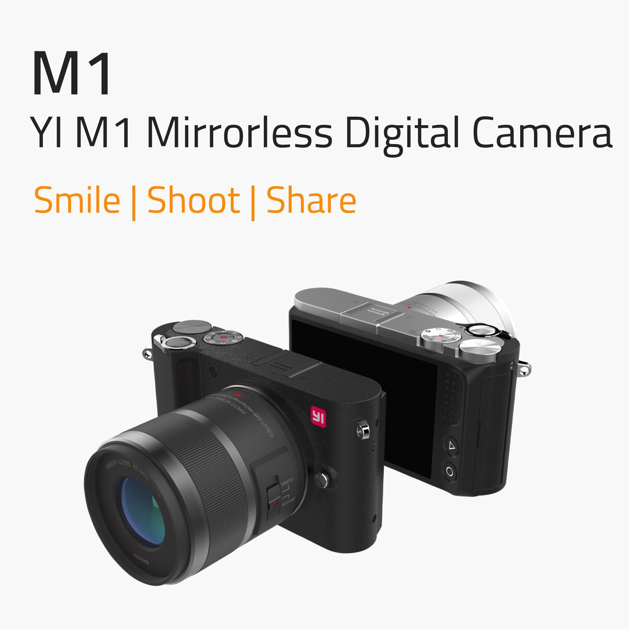 Amazon.com : YI M1 Mirrorless Digital Camera with 12-40mm