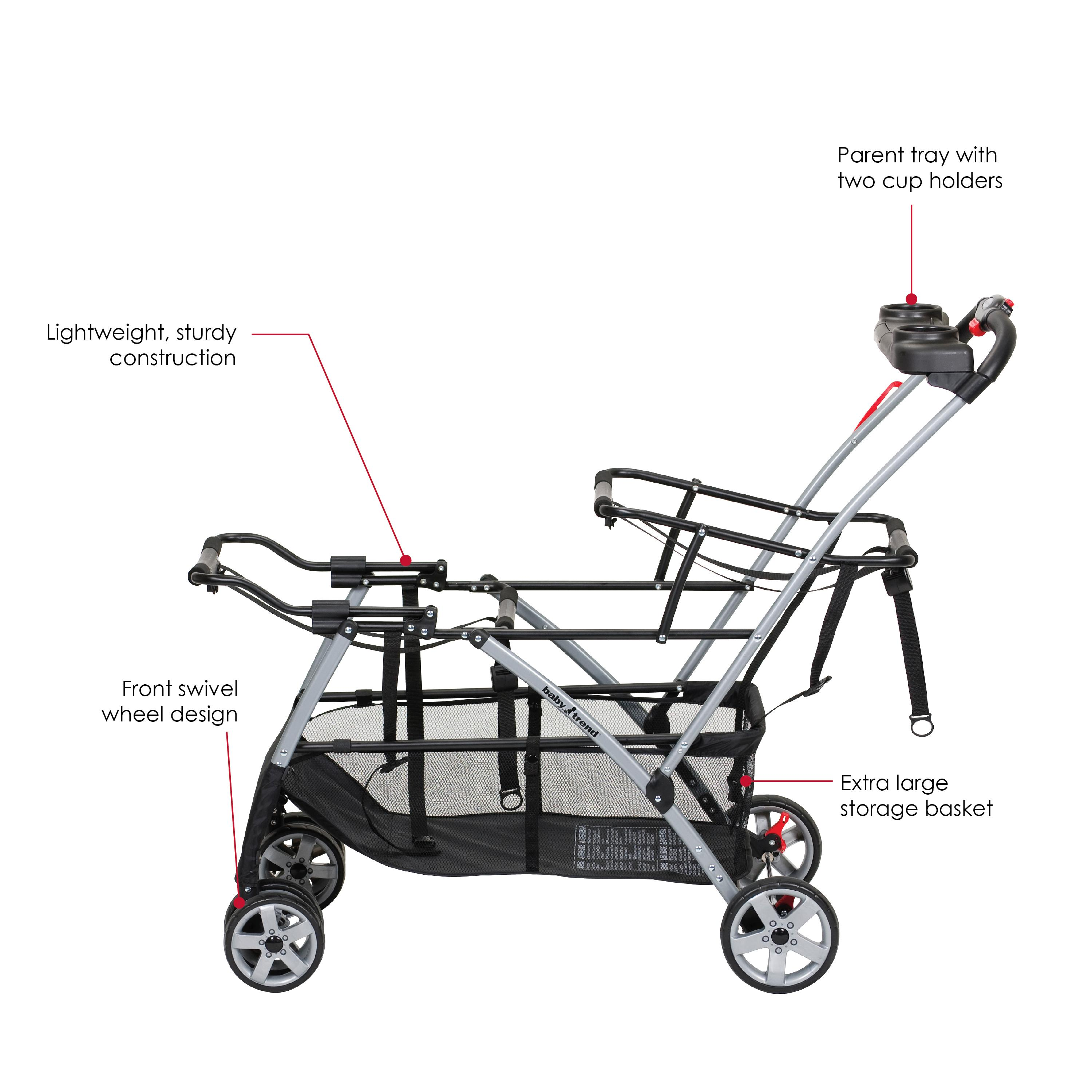 Amazon.com : Baby Trend Universal Double Snap-N-Go Stroller Frame ...