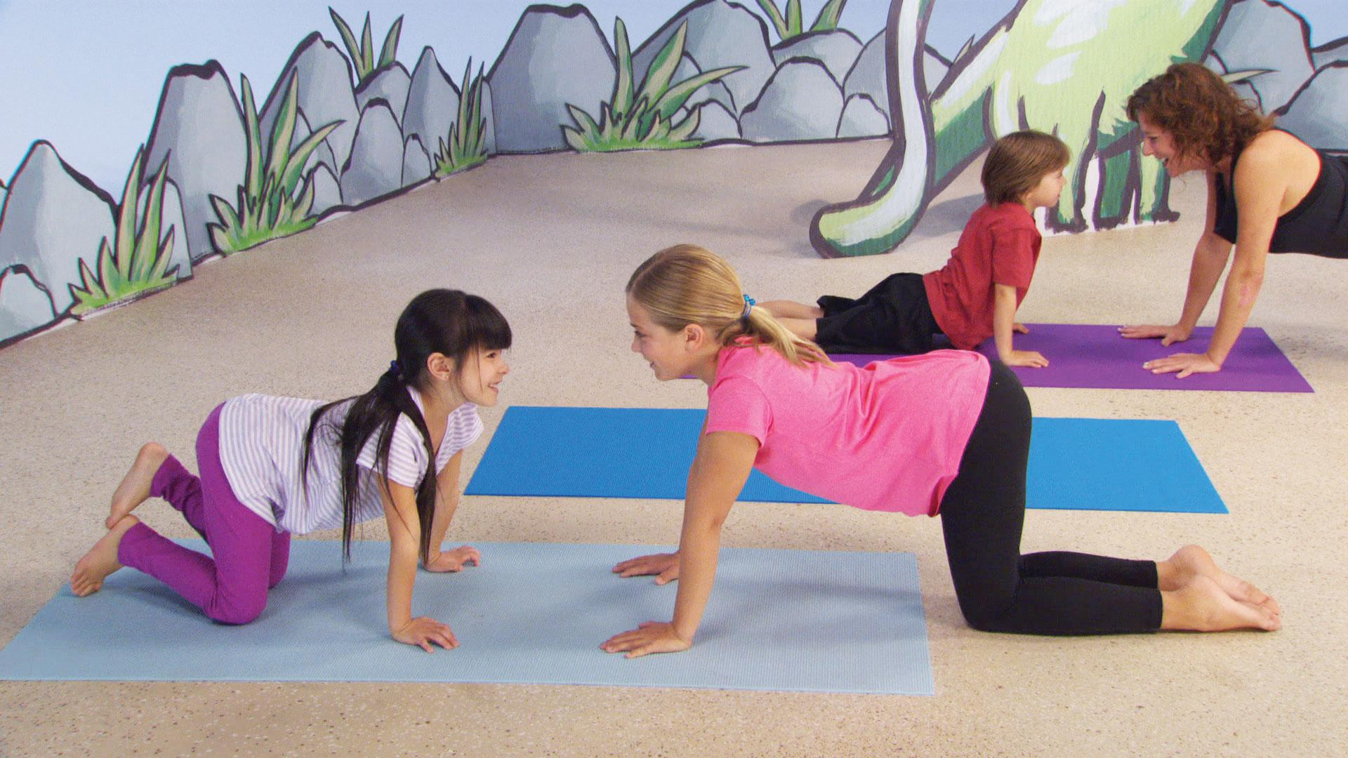 Amazon Com Yoga For Kids Dino Mite Adventure Jodi