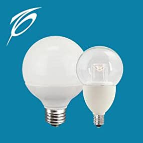 Vanity Light Bulbs Daylight : TCP G25, E26 Base, LED Globe Light Bulbs, 40 Watt Equivalent, ENERGY STAR Certified, Dimmable ...