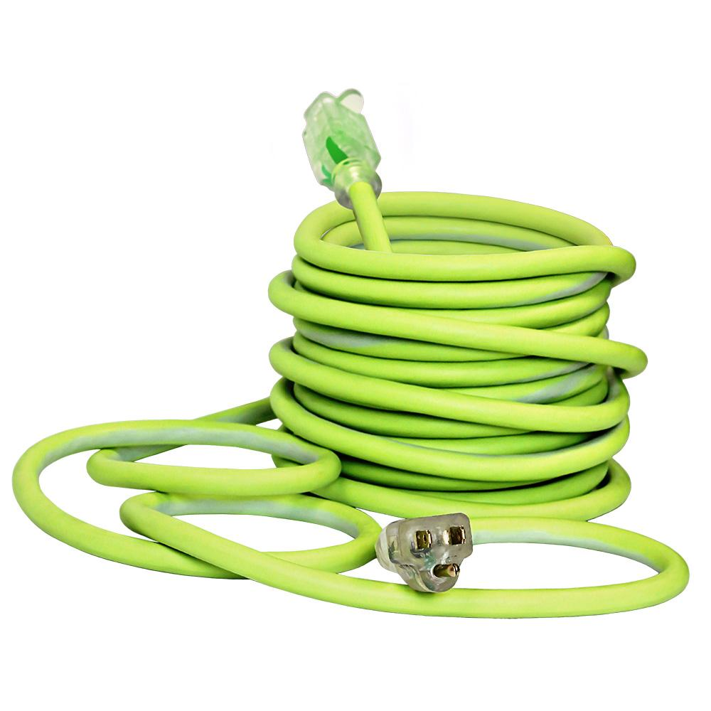 Flexzilla Outdoor Extension Cord with Lighted Plug