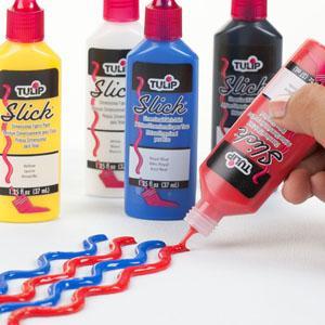 Fabric Paint, Dimensional Paint, 3D paint, Tulip