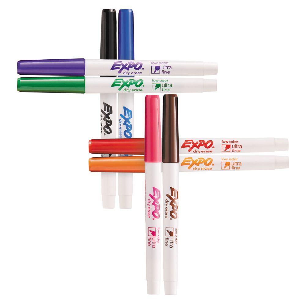 Amazon.com : EXPO Low Odor Dry Erase Markers, Ultra-Fine