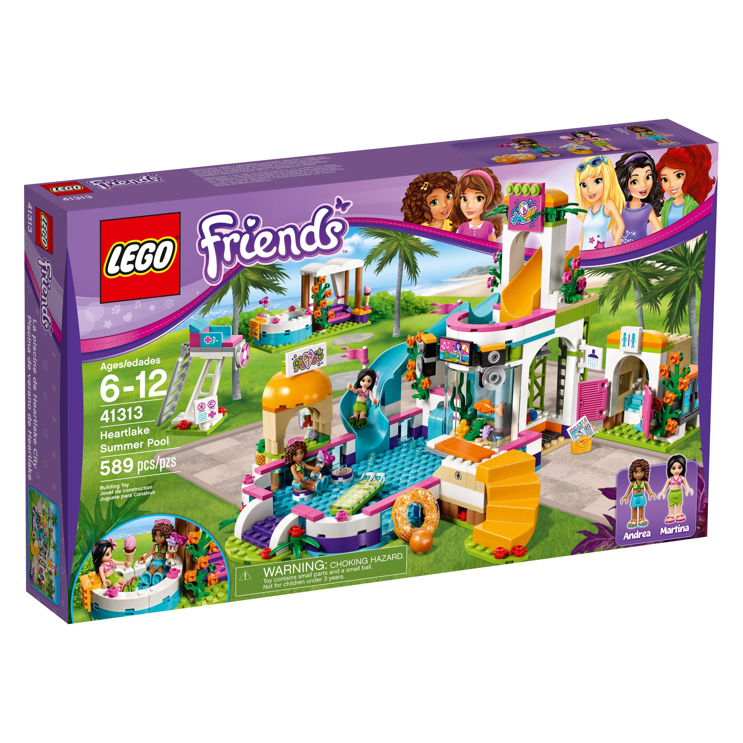 Toys For Ages 8 10 : Amazon lego friends heartlake summer pool new