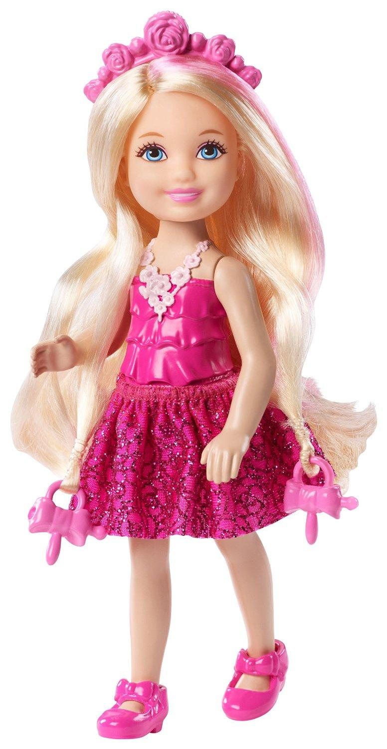 Best Barbie Dolls And Toys : Amazon barbie dkb endless hair kingdom chelsea doll