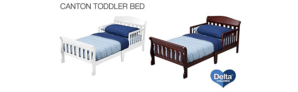 Amazon Delta Children Canton Toddler Bed White Baby
