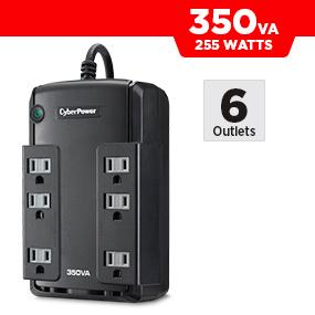 CyberPower CP350SLG Battery Backup UPS