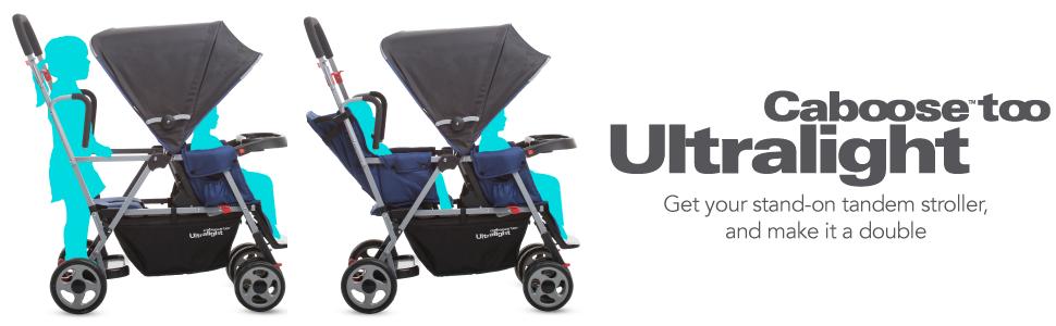 Amazon Com Joovy Caboose Too Ultralight Stroller Black
