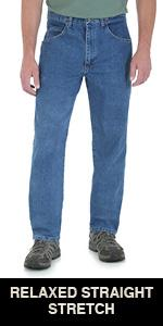 Wrangler Men S Rugged Wear Classic Fit Jean At Amazon Men