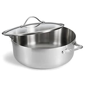 Amazon Com Calphalon Contemporary Stainless Steel 8 Quart