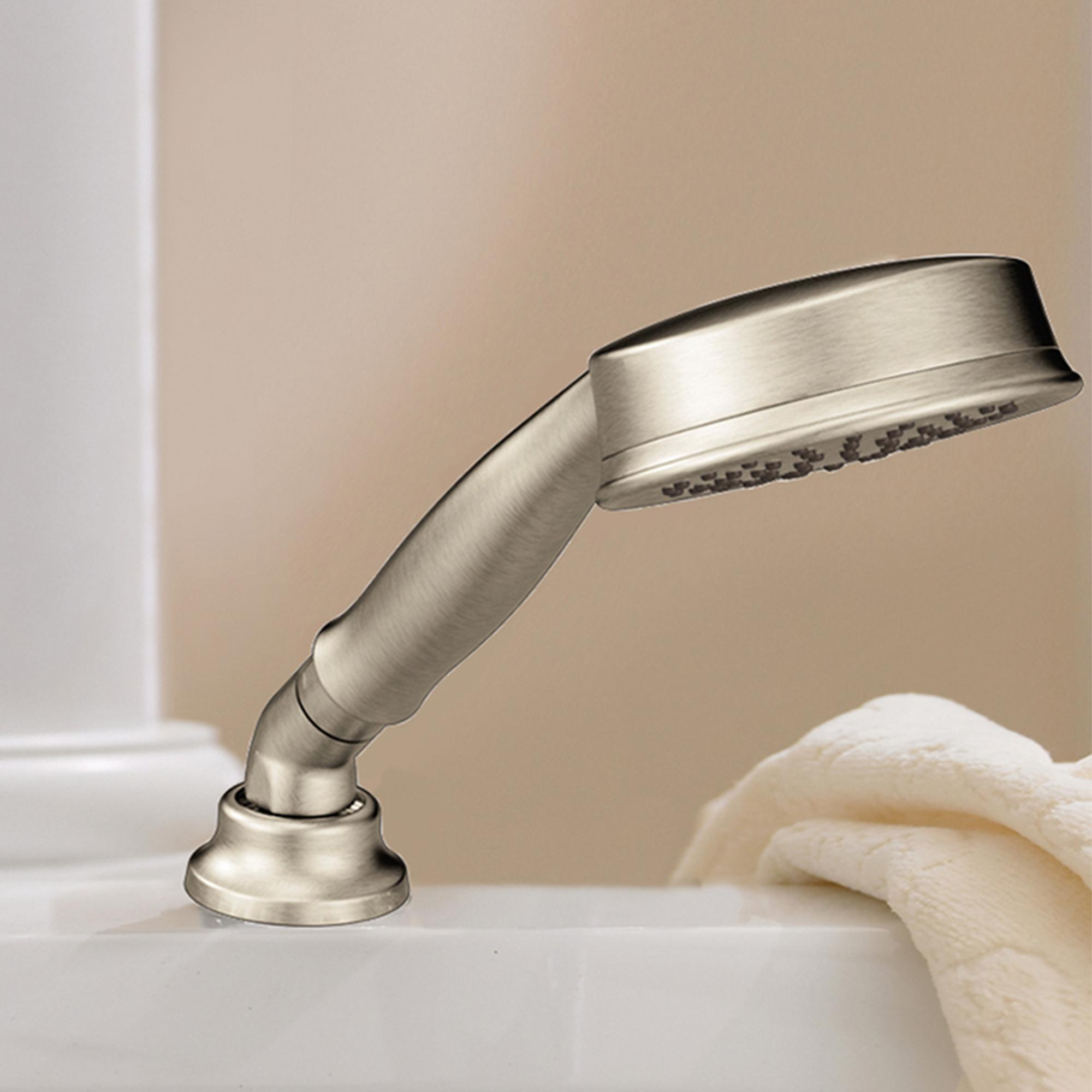 Moen T944BN Eva Two-Handle High-Arc Roman Tub Faucet and Hand Shower ...