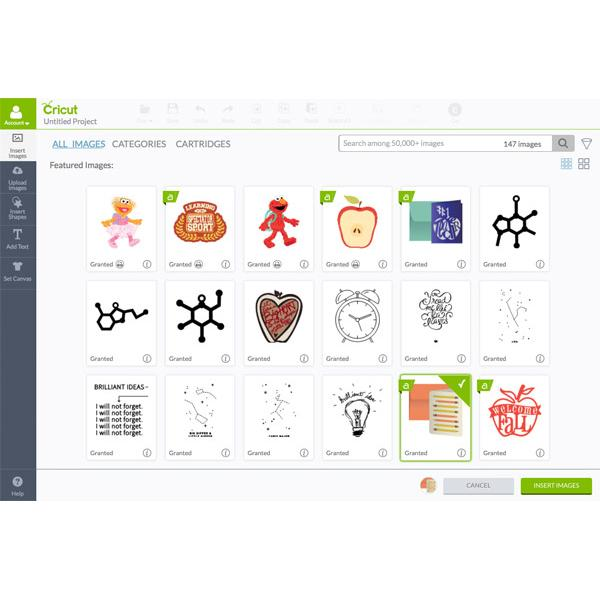 how to download images for cricut explore